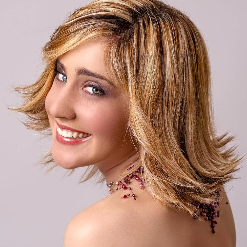 Frisuren Langer Bob  Stufiger Long Bob