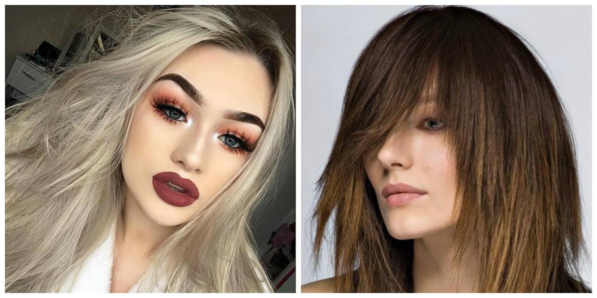 Frisuren Mode 2019  Frisuren für lange Haare 2019 Top trendige lange Frisuren
