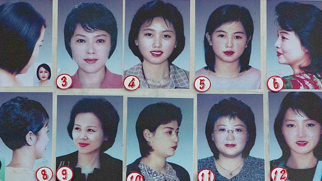 Nordkorea Frisur