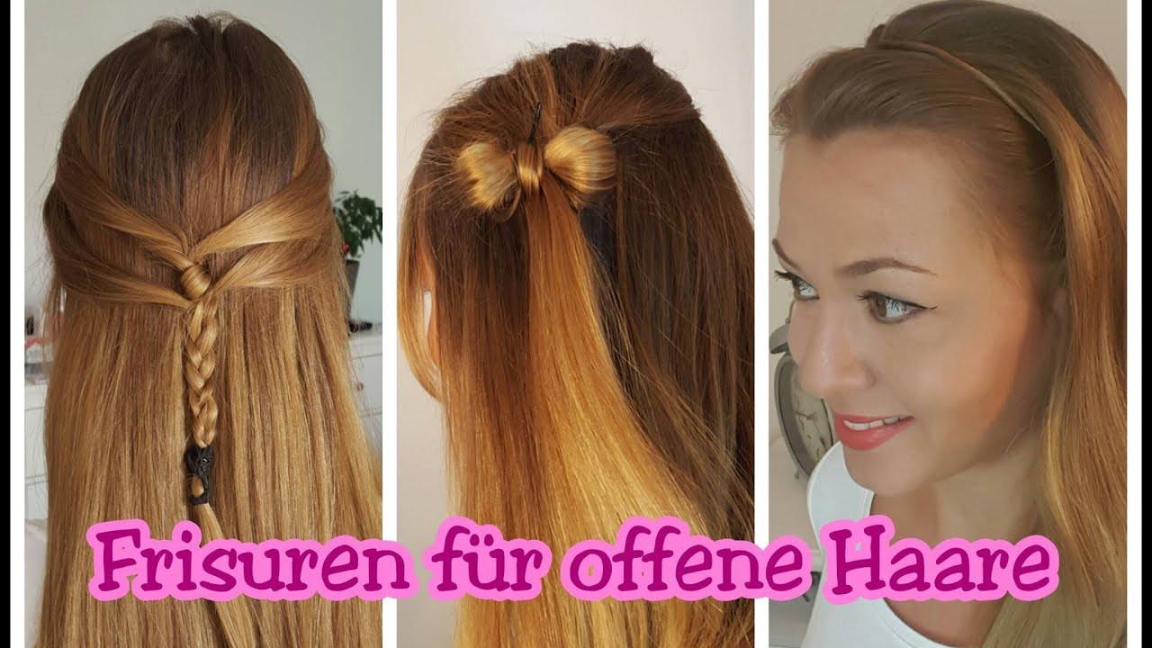 Frisuren Offene Haare  schöne Frisuren für offene Haare