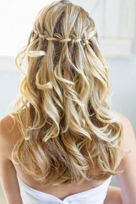 Frisuren Offene Haare  Festliche frisuren offene haare