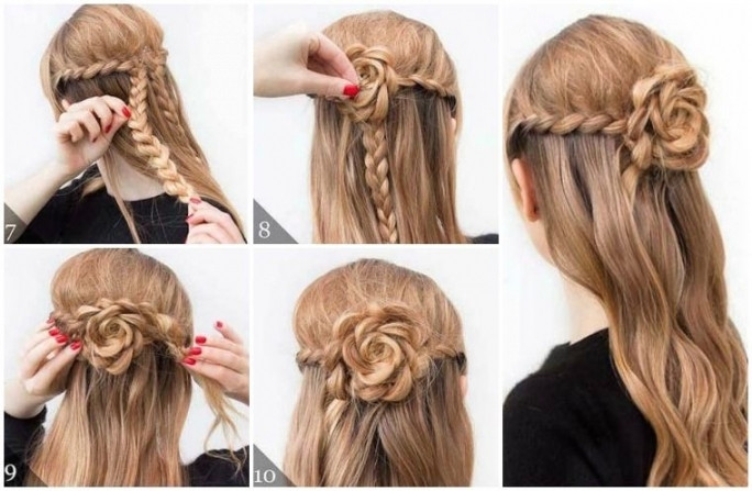 Frisuren Selber Machen Mittellang  Lange Haare Frisuren Selber Machen Mit Kurz Haar Frau