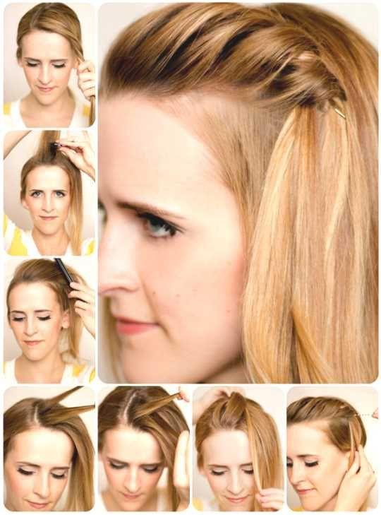 Frisuren Selber Machen Mittellang  Pin von Diana Pfeiffer auf frisuren