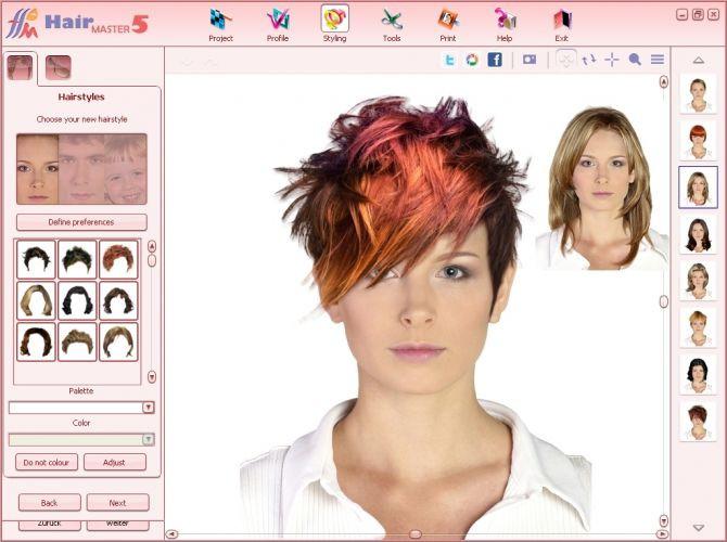 Frisuren Testen Kostenlos  Beauty Studio Hair Master Download