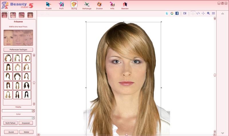 Frisuren Testen Kostenlos  Frisuren Testen Mit Eigenem Gesicht