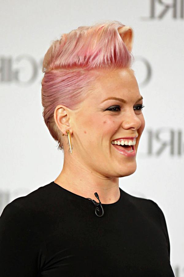 Frisur Von Pink