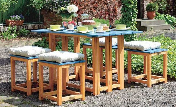 Gartenmöbel Selber Bauen  Gartenmöbel selber bauen
