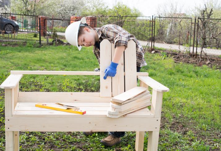 Gartenmöbel Selber Bauen  Gartenmöbel aus Holz selber bauen Ideen Tipps und Tricks