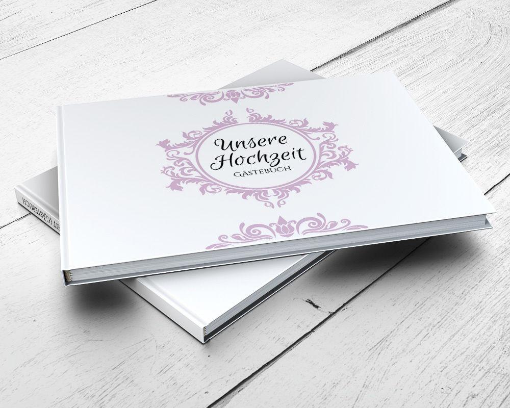 Gästebuch Hochzeit Fragen  Gästebuch Prunkvoll