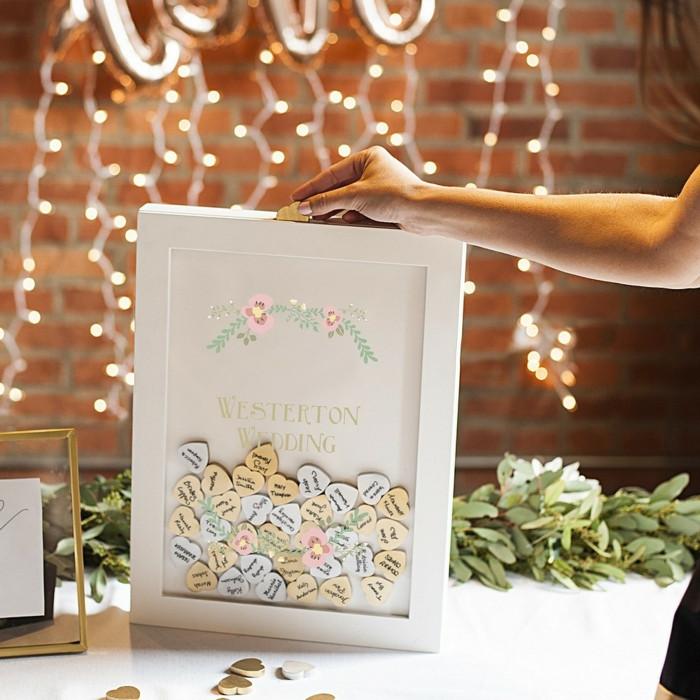 Gästebuch Hochzeit Ideen  1001 fantastische Ideen für Gästebuch Hochzeit