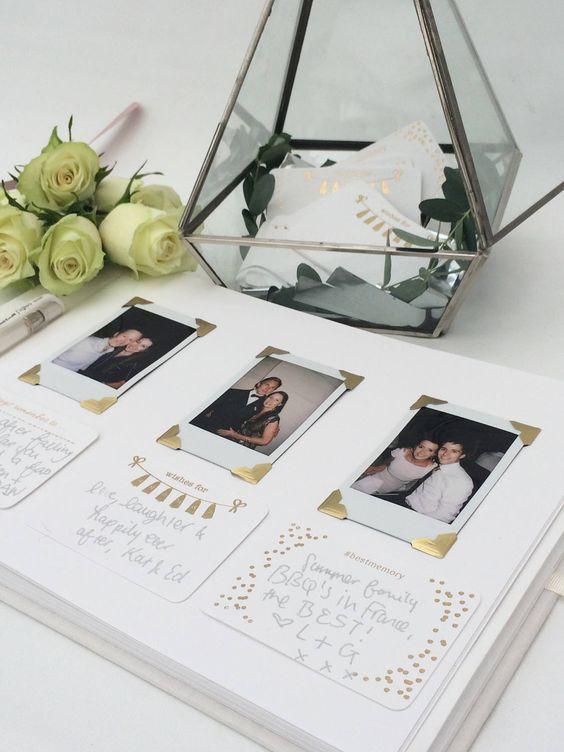 Gästebuch Hochzeit Ideen  Gästebuch Hochzeit Ideen 30 schönsten