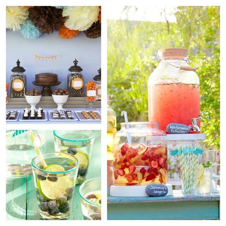 Geburtstagsfeier Ideen Erwachsene  Geburtstag Tischdekoration 50 Vorschläge für den Sommer