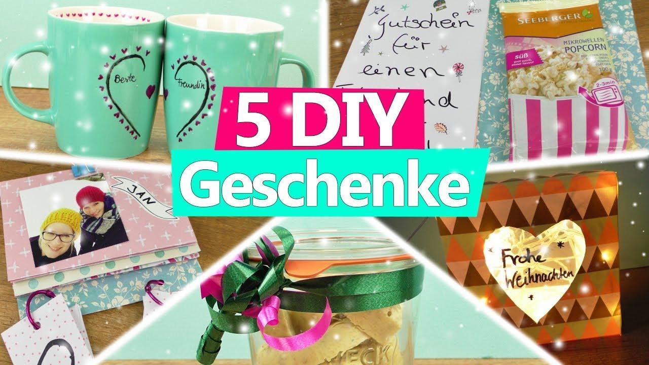 Geburtstagsgeschenke Für Mama Selber Machen  5 DIY Weihnachtsgeschenke selber machen für Eltern MAMA