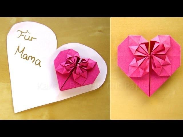 Geburtstagsgeschenke Für Mama Selber Machen  Muttertagsgeschenke basteln Geschenk zum Muttertag