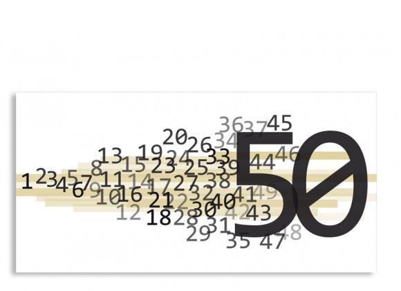 Geburtstagskarten 50  Geburtstagskarten online gestalten Technik