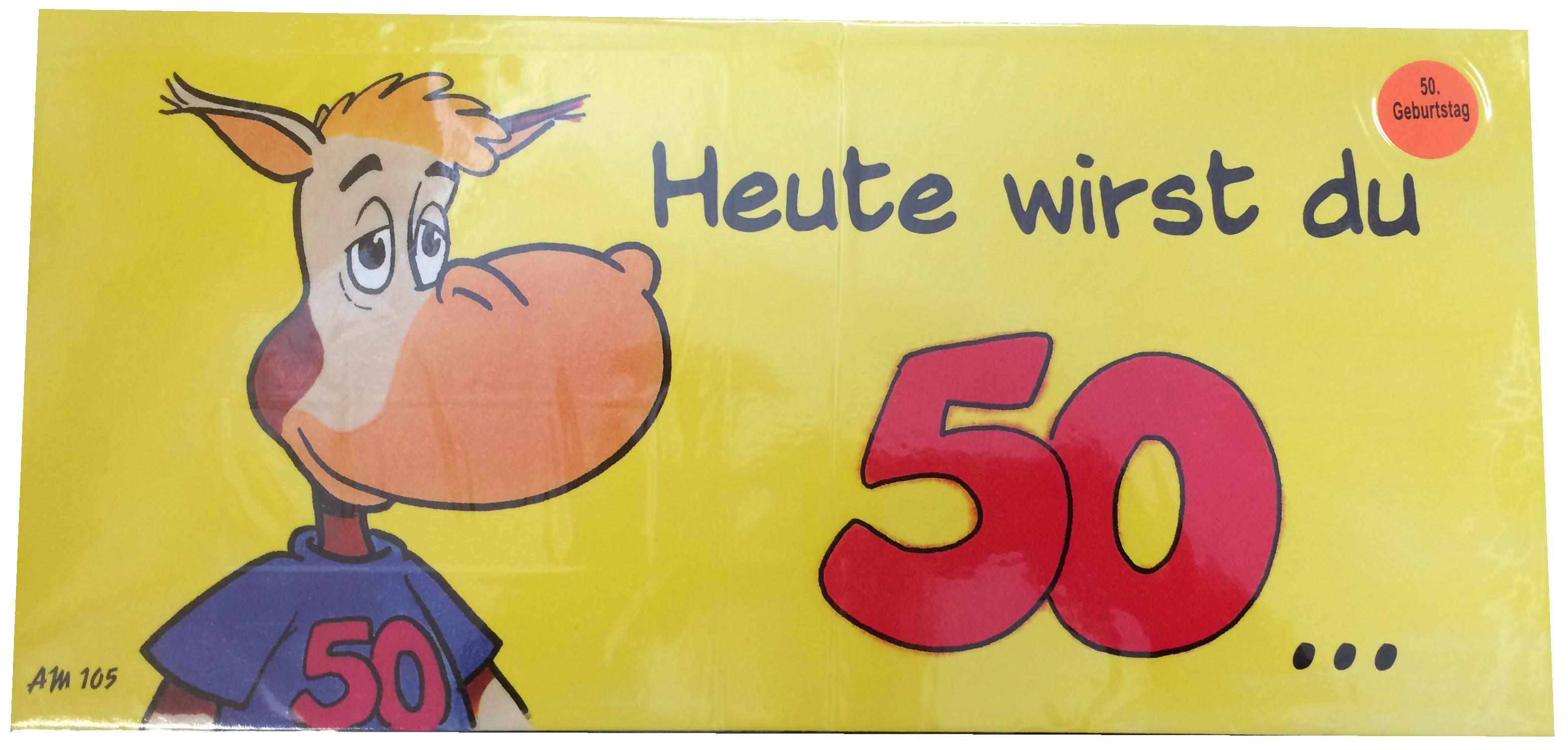 Geburtstagskarten 50  Geburtstagskarte 50 Geburtstag FF25
