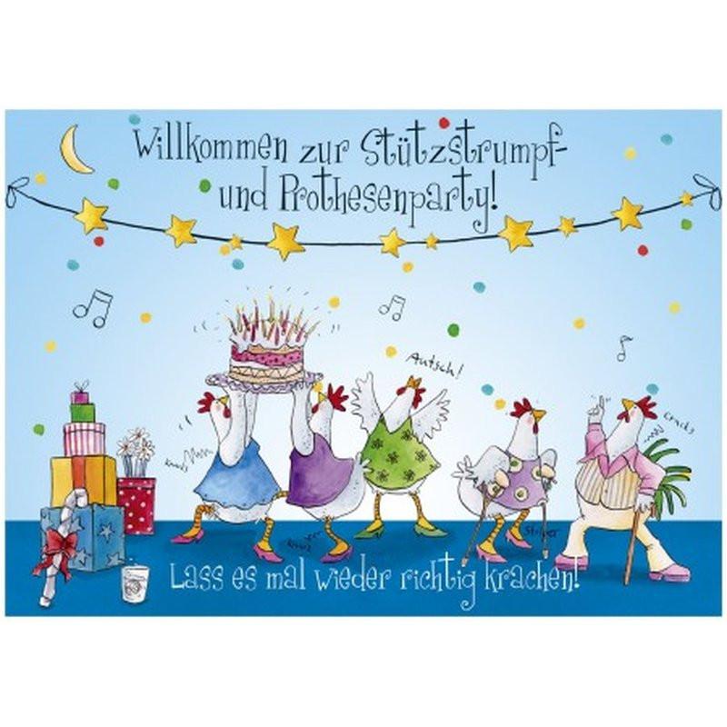 Geburtstagskarten 50  Witzige A4 Geburtstagskarte 50