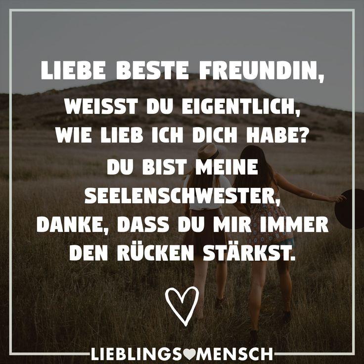 Geburtstagssprüche Für Meine Freundin  Die besten 25 Meine beste freundin Ideen auf Pinterest