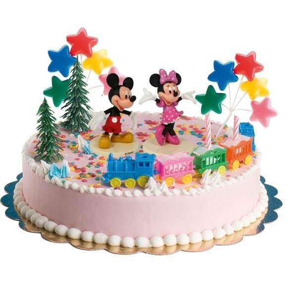 """Geburtstagstorte Kinder  Torten Deko Set """"MICKEY UND MINNIE MOUSE"""" Maus"""