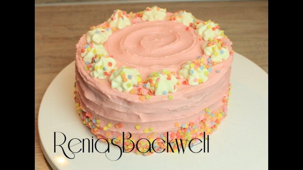 Geburtstagstorte Kinder  Kinder Geburtstagstorte Wahnsinnig Einfach & Lecker