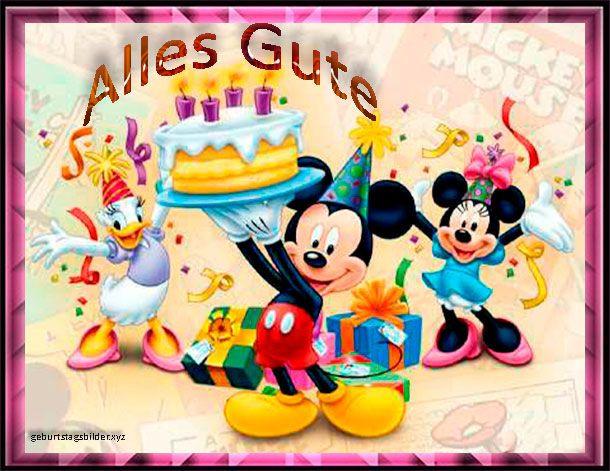 Geburtstagswünsche Zum 3 Geburtstag  Geburtstagsbilder Mickey Disney