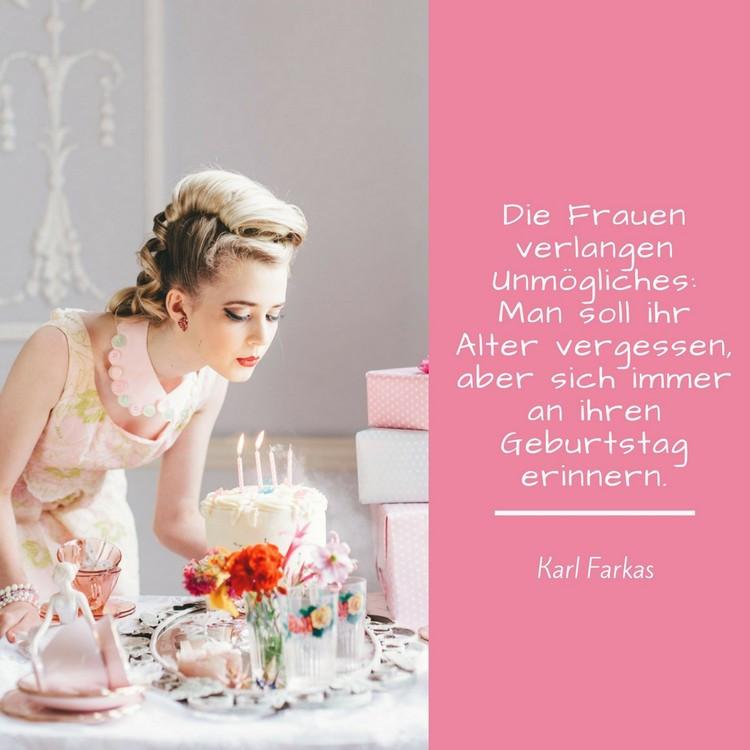 Geburtstagswünsche Zum 40 Frau  32 Zitate zum Geburtstag Aphorismen und Weisheiten zum