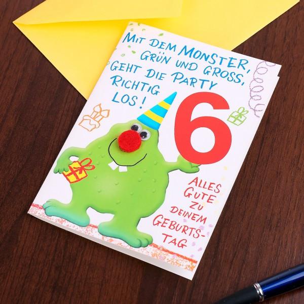 Geburtstagswünsche Zum 6