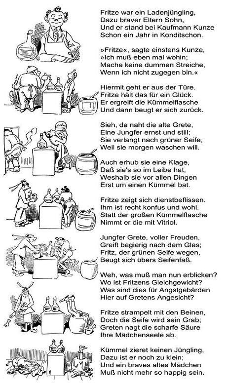 Gedichte Diamantene Hochzeit Wilhelm Busch  Glückwunsch Geburtstag Wilhelm Busch