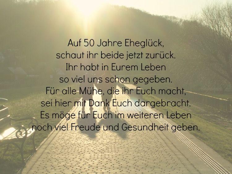 Gedichte Diamantene Hochzeit Wilhelm Busch  30 Wünsche und Sprüche zur goldenen Hochzeit der Eltern