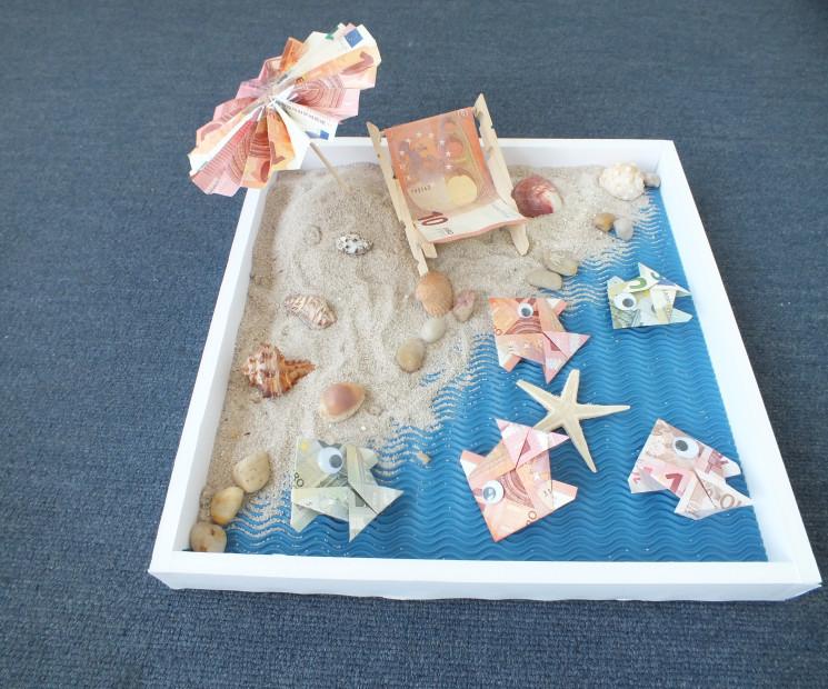 Geldgeschenke Hochzeit Basteln Sand  Geldgeschenke selbst machen schönsten Ideen auf