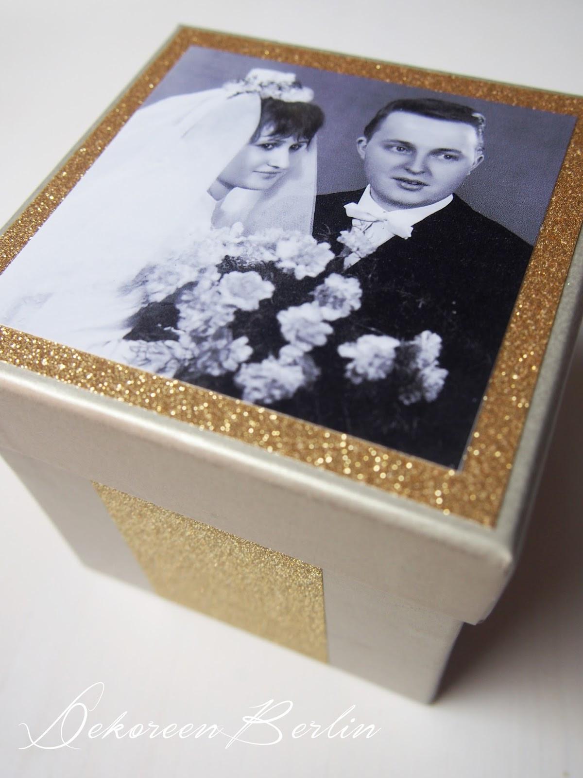 Geschenk Für Goldene Hochzeit  DekOreenBerlin Geschenke zur goldenen Hochzeit