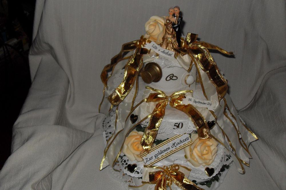 Geschenk Für Goldene Hochzeit  goldene Hochzeit Geldgeschenk Geschenk