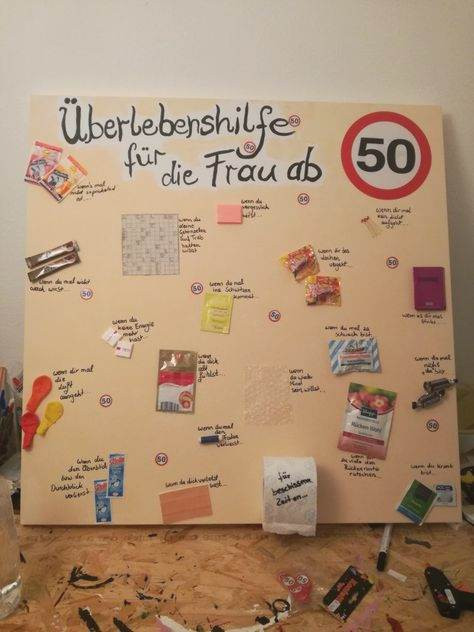 Geschenke 40. Geburtstag Frau Selber Machen  Genial 25 Geldgeschenk 50 Geburtstag Frau