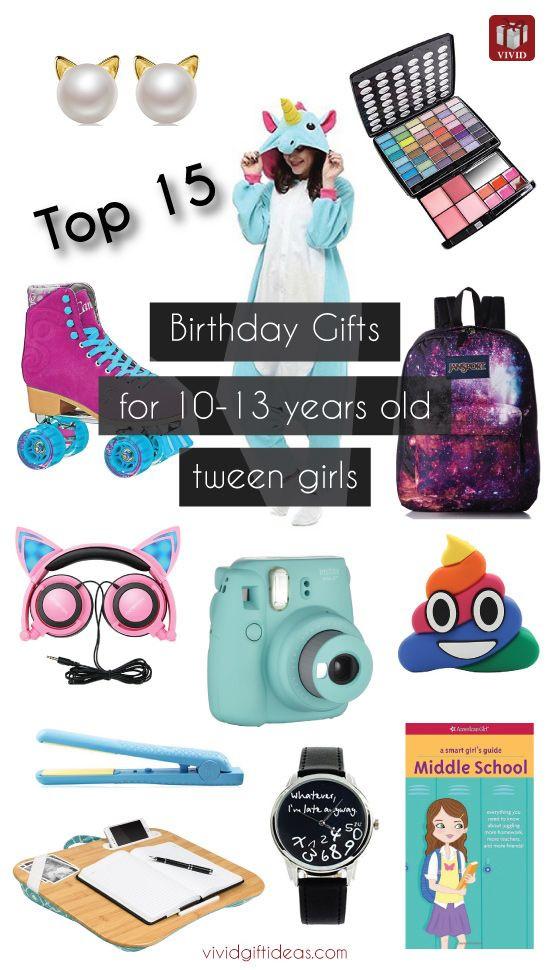 Geschenke Für 12 Jährige Mädchen  Top 15 Birthday Gift Ideas for Tween Girls