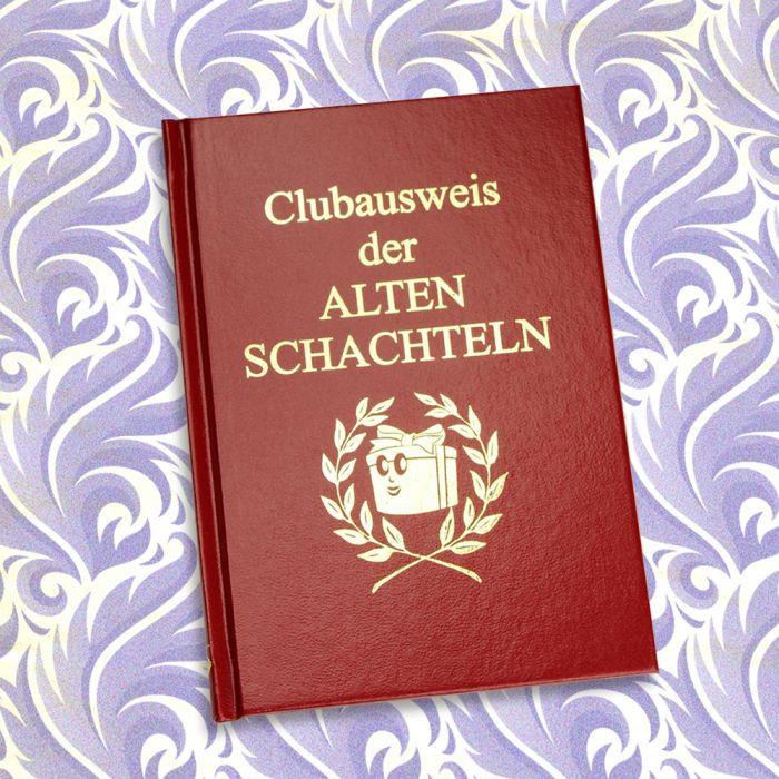 Geschenke Für Alte Leute  Clubausweis der Alten Schachteln lustiges Buch für