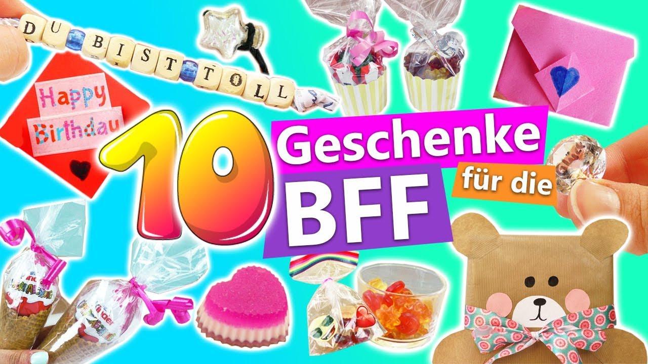 Geschenke Für Die Beste Freundin Diy  10 süße DIY Geschenke für BFF