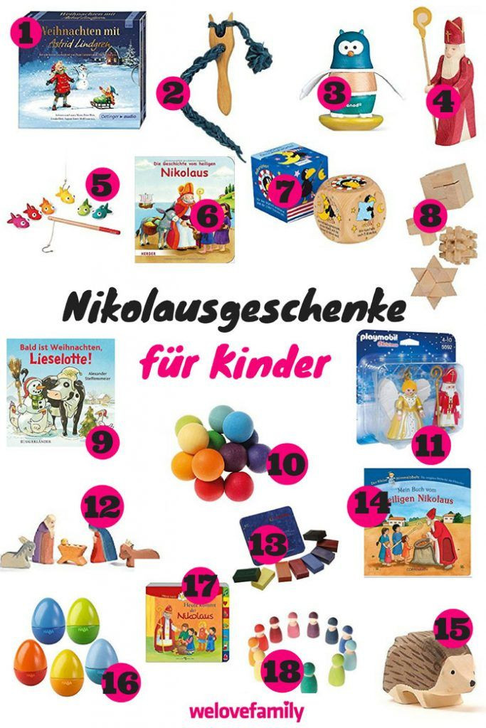 Geschenke Für Die Ganze Familie  Nikolaus Geschenke für Kinder
