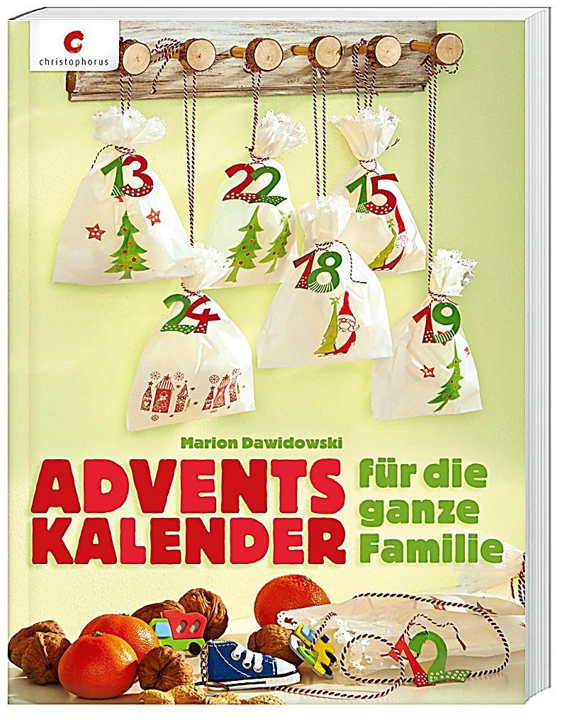 Geschenke Für Die Ganze Familie  Adventskalender für ganze Familie Buch Weltbild