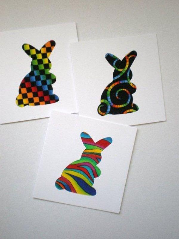 Geschenke Für Eltern Selber Machen  Ideen für kreative Osterkarten zum selber machen Geschenke