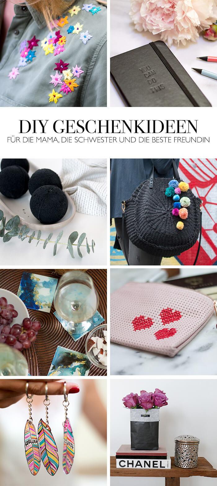 Geschenke Für Freundin Selber Basteln  DIY GESCHENKE FÜR SIE GESCHENKIDEEN FÜR WEIHNACHTEN
