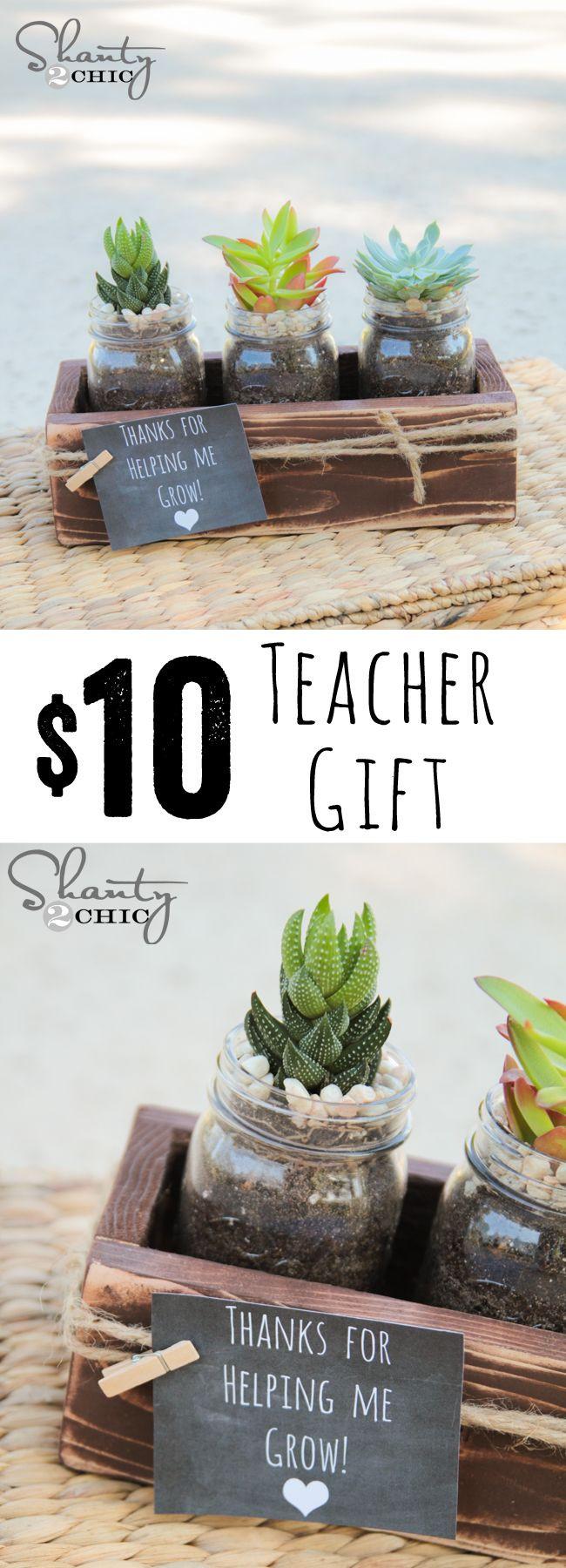 Geschenke Für Lehrer Zum Abschluss  Teacher Gift Idea Allerlei