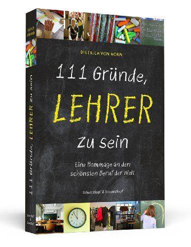 """Geschenke Für Lehrer Zum Abschluss  Buch """"111 Gründe Lehrer zu sein"""""""
