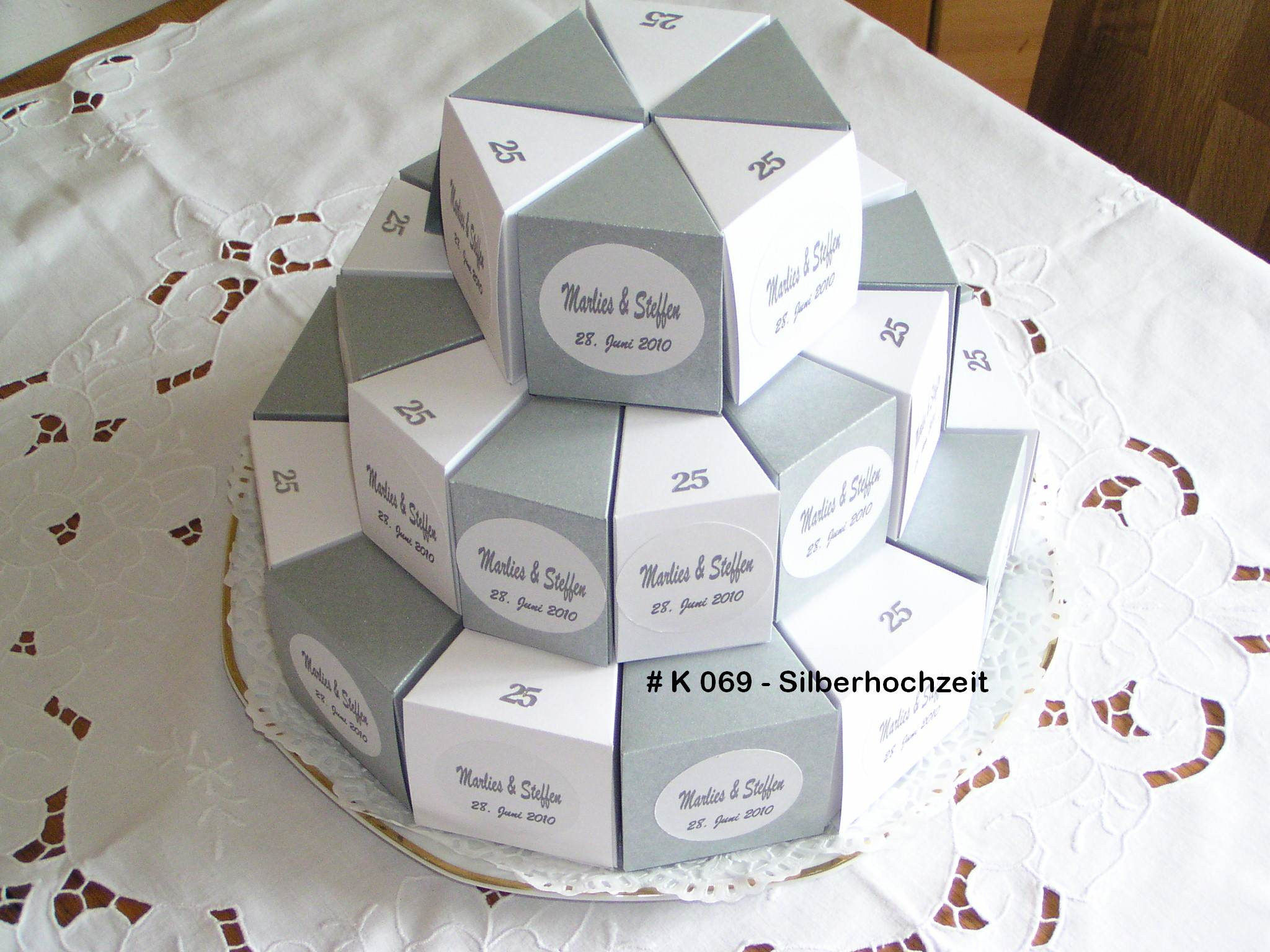 Geschenke Silberhochzeit Eltern  Geschenkboxen Meine Homepage