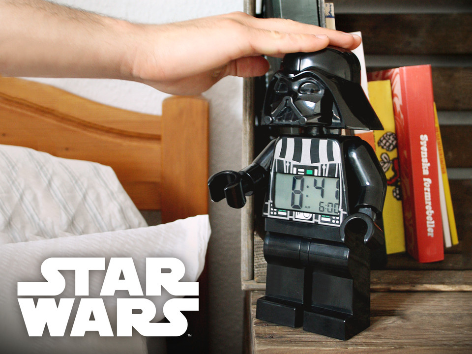 Geschenke Star Wars  Lego Star Wars Wecker Darth Vader Yoda Stormtrooper