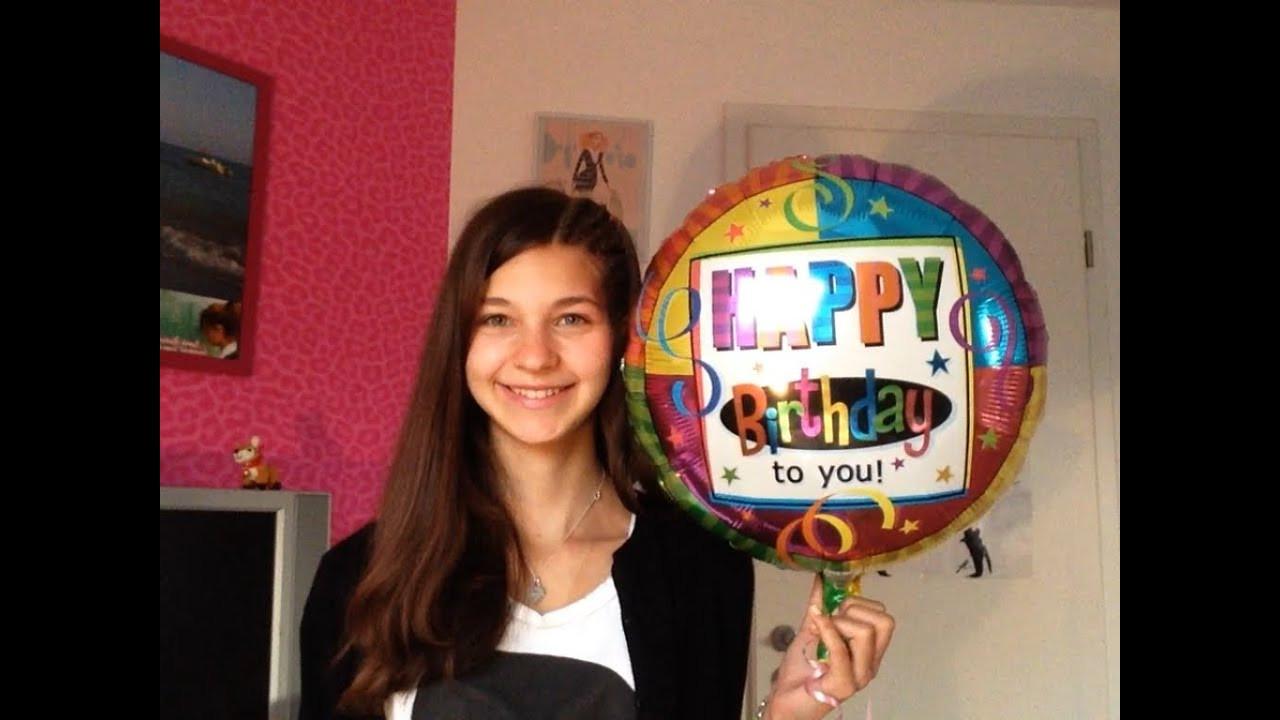 Geschenke Zum 14 Geburtstag  Meine Geschenke zum 14 Geburtstag ️