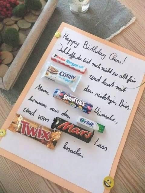 Geschenke Zum 16 Geburtstag Selber Machen  Liebenswert 25 Geschenke Zum 16 Geburtstag Selber Machen