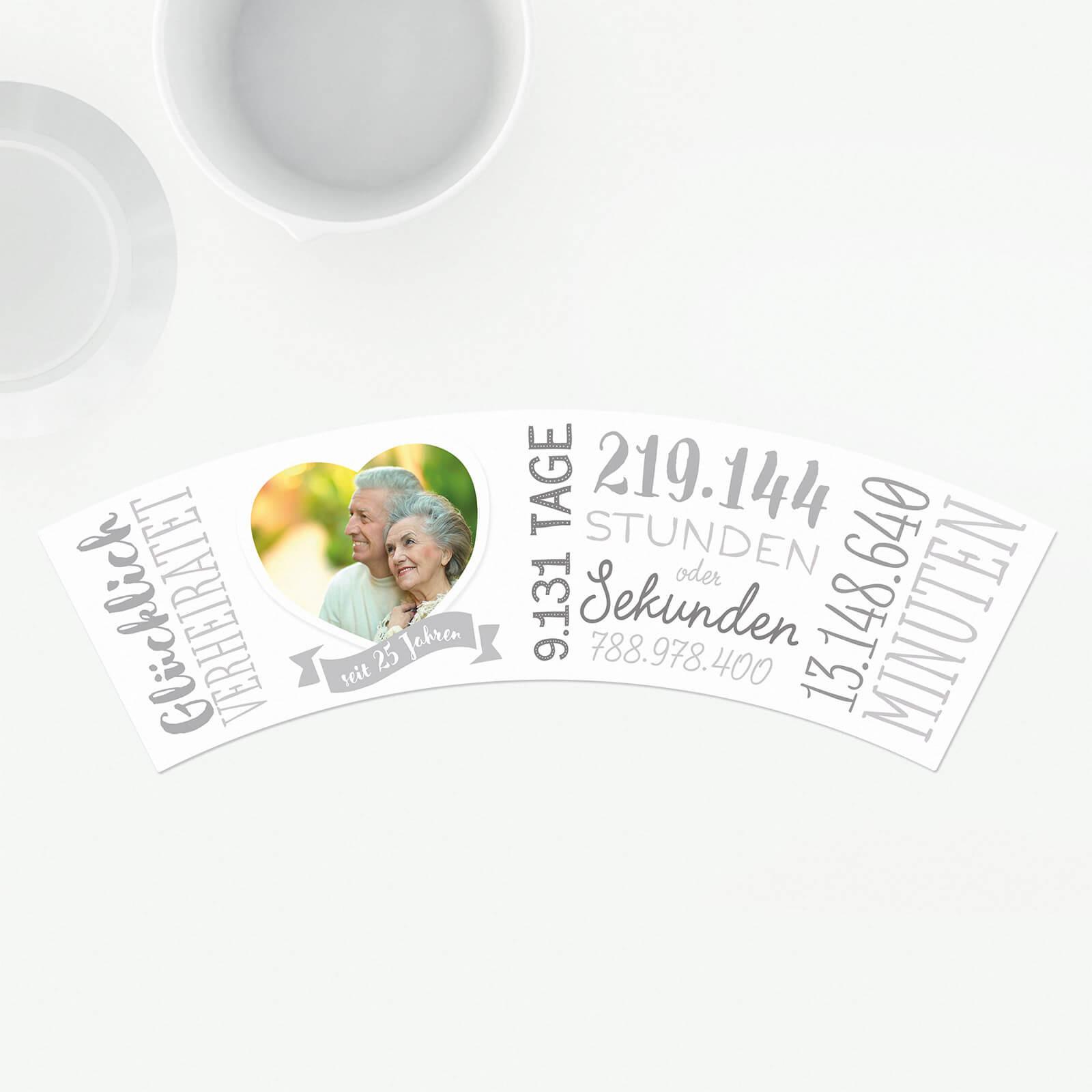 Geschenke Zum 25 Hochzeitstag  25 Hochzeitstag Silberne Hochzeit – Blumentopf von