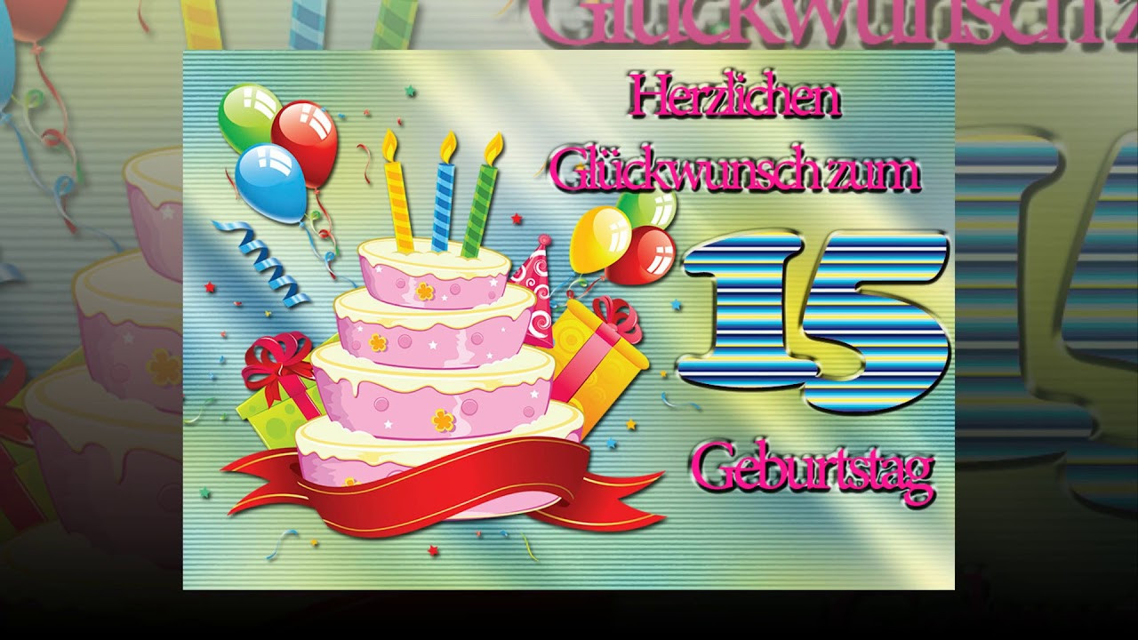Geschenke Zum 3 Geburtstag Junge  Herzlichen Glückwunsch zum 15 Geburtstag Junge