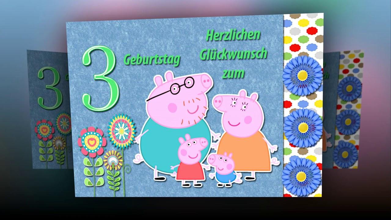 Geschenke Zum 3 Geburtstag Junge  Herzlichen Glückwunsch zum 3 Geburtstag Junge