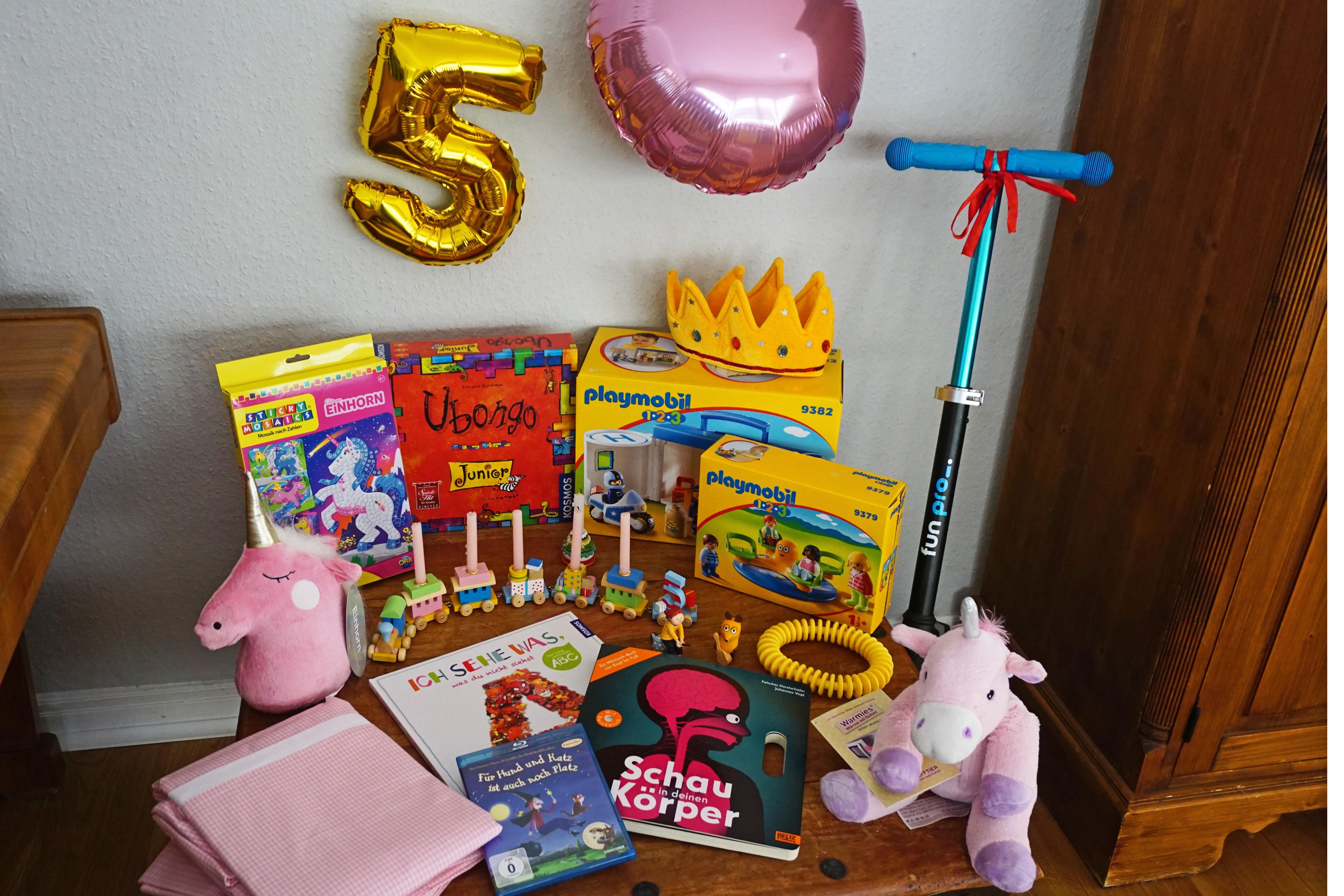 Geschenke Zum 3 Geburtstag Junge  Schöne Geschenke zum 5 Geburtstag Mädchenmutter